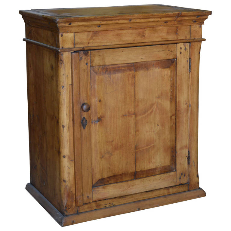 Shop - Petersen Antiques Antique Floor Cabinet Or Wall Hanging Cabinet